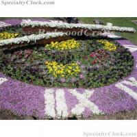 Buy cheap Floral Clock,Flower Clock,landscape clock from wholesalers