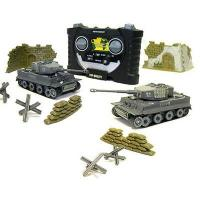 Buy cheap 1:70 Scale Infrared Flashing Combat RC Tank (3840) from wholesalers