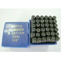 Buy cheap 36 Pcs Steel Letter/Number Stamping Set from wholesalers