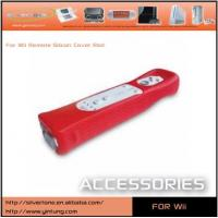 Buy cheap Wii Remote Silicon Cover Red from wholesalers