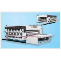 Buy cheap SYK 3350 New Type Multi-color Printing & Slotting Machine product