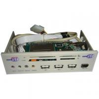 Buy cheap 5.25 Multifunction Front Panel with 3 USB2.0 Ports and 5.1-Channel Sound Card from wholesalers