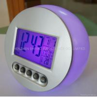 Buy cheap Natural Sound Color Changing Clock 2616B from wholesalers