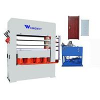 Buy cheap Door skin moulding press machine from wholesalers