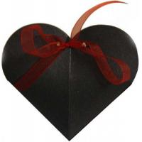 Buy cheap Heart Favour Box-Black(FB6-2)[Price:$0.04] from wholesalers
