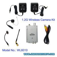 Buy cheap (JD-WL6010) 1.2G Wireless Pinhole Camera(size: 20x22 mm ) and Receiver product