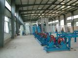 Steel pipe conveyor system