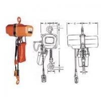Buy cheap Lifting Components HHXG Serise Electric Chain Hoist (Hook Suspension Type) from wholesalers