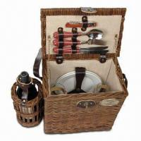 Buy cheap Wicker picnic basket NTW-355 from wholesalers