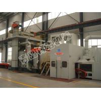 Buy cheap Tunnel Type Steel Plate Shot Blasting Machine from wholesalers