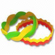 Buy cheap silicone wristband PW-SW-040 from wholesalers