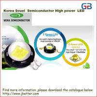 Buy cheap Supply Korea semiconductor high power led from wholesalers