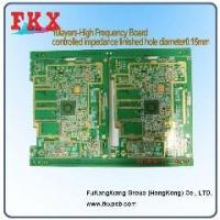 Buy cheap 10layers,high frequency ,controlled impedance PCB from wholesalers