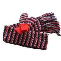 Buy cheap hand knitted scarf and glove from wholesalers