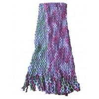 Buy cheap space dyed chunky slubby yarn warp knitted scarf from wholesalers