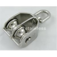 Swivel block with double pulley