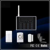 Buy cheap GSM Touch Screen Wireless Alarm System from wholesalers
