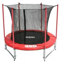 Buy cheap 8FT Trampoline with inside Net&Long Pole from wholesalers