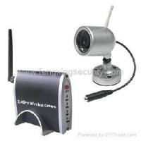 Buy cheap 2.4GHz Wireless IR Camera Kit CCD/CMOS product