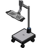 Buy cheap Moov Cart w/ 35 pole, articulating arm and flip-up keyboard tray from wholesalers
