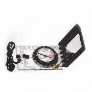 Buy cheap #45-6c.. Map Compass with Scale and Silicone Feet from wholesalers
