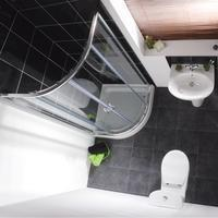 Buy cheap Milano Elba with 900 Quadrant - Bathroom Suites from wholesalers