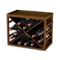 Buy cheap Cube Stack 12 Bottle X Wine Rack from wholesalers