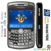Buy cheap New Guranteed RIM Blackberry Curve 8320 UNLOCKED Cell phone T-Mobile Free Shipping from wholesalers