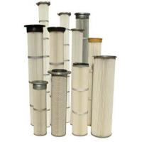 Buy cheap FT Series high efficiency pleated filter bags for pulse jet dust collectors from wholesalers