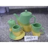 Buy cheap 15pcs tea set (1pc tea pot, 1pc creamer, 1pc sugar, 6sets of cup & saucer)H05375-3 from wholesalers