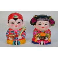 Buy cheap Clay Figurine A Fu and A Xi 3 from wholesalers