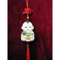 Buy cheap Clay Figurine A Fu hanging piece from wholesalers