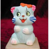 Buy cheap Clay Figurine Cat from wholesalers