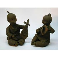 Buy cheap Clay Figurine In good company from wholesalers