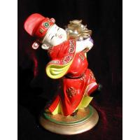 Buy cheap Clay Figurine Find pot of gold from wholesalers