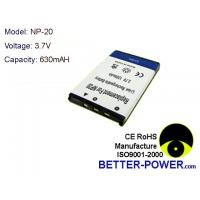 Buy cheap Camera/camcorder batteries Model: NP-20 from wholesalers