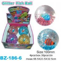 Buy cheap Glitter Bouncing Ball with Fish from wholesalers