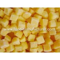 Buy cheap Freeze Dried Fruit Freeze Dried Yellow Peach Dices product