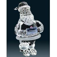 Buy cheap Crystaly gifts crystal Santa Clause from wholesalers