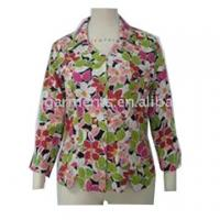 Buy cheap Item No.:Silk Floral Print Blouse/SRG-004 from wholesalers