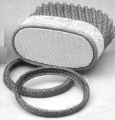 Buy cheap CERAMIC CATALYTIC CONVERTERS MONOLITH SUPPORTS,VIBRATION-DAMPING RING from wholesalers