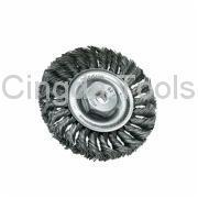 Buy cheap Wire Brush KNOT WIRE WHEEL BRUSH, FULL CABLE, TWIST from wholesalers