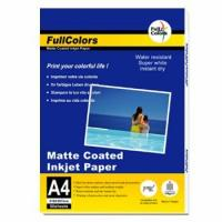 Buy cheap Matte Coated Inkjet Paper 108gsm Matte Coated Photo Paper from wholesalers