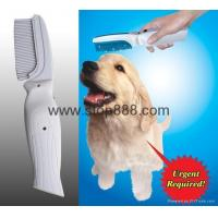Buy cheap Electronic Flea Killer Zapper Comb Brush for Cat Pet Dog from wholesalers