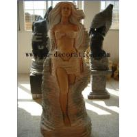 Buy cheap Buddha Product Namefashion lady marble statue from wholesalers