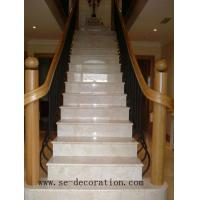 Coping Stone & Pier Cap Product Namebeige marble stair & riser
