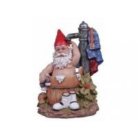 Buy cheap Polyresin Gnomes Figurines Polyresin Bathing Garden Gnome from wholesalers