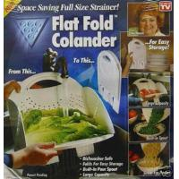 Buy cheap KITCHEN FLAT FOLD COLANDER from wholesalers