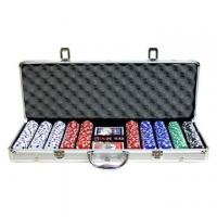 Buy cheap Game Set 500pc poker set 40117 from wholesalers