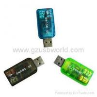 Buy cheap USB sound card&network card 3D Sound 5.1 TIDE USB sound card from wholesalers